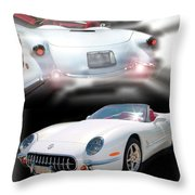 1953-2003 C5 Edition Throw Pillow
