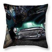 1953 Buick Roadmaster Throw Pillow