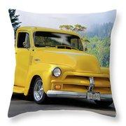 1953 Chevrolet Stepside Pickup I Throw Pillow