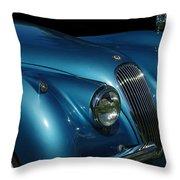 1953 Jaguar 120m  Throw Pillow
