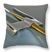 1953 Lincoln Hood Ornament Throw Pillow