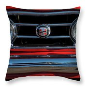 1953 Nash Healey Roadster Grille Throw Pillow