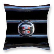 1953 Nash Healey Roadster Hood Ornament Throw Pillow