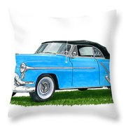 Oldsmobile 98 Convert Throw Pillow