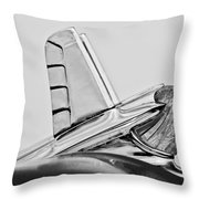 1953 Pontiac Hood Ornament 2 Throw Pillow