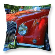 1953 Xk 150 Jaguar Throw Pillow