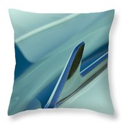 1954 Chevrolet Hood Ornament 2 Throw Pillow