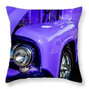 1954 Ford F100 2 Throw Pillow