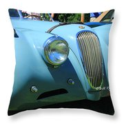 1954 Jaguar Xk Throw Pillow