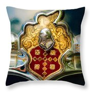 1954 Patrician Packard Emblem 2 Throw Pillow