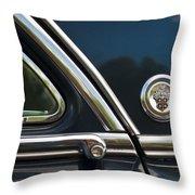 1954 Patrician Packard Emblem 3 Throw Pillow