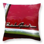 1955 Belair Throw Pillow