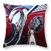 1955 Chevrolet 210 Key Ring Throw Pillow