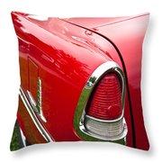 1955 Chevrolet Bel Air Tail Light Throw Pillow