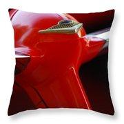 1955 Chevrolet Belair Nomad Steering Wheel 2 Throw Pillow