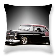 1955 Chvrolet Bel Air 'nor Cal Style' II Throw Pillow