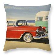 1955 Nomad Throw Pillow