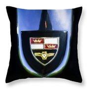 1955 Studebaker President Speedster Emblem -0496c45 Throw Pillow