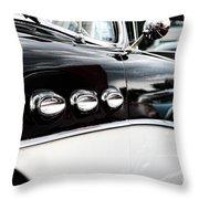 1956 Buick Century Profile 1 Throw Pillow