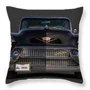 1956 Cadillac Throw Pillow
