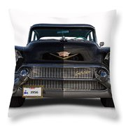 1956 Cadillac Sixty Special Throw Pillow