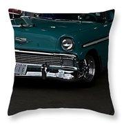 1956 Chevy 210 Throw Pillow