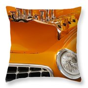 1956 Chrysler Custom 2 Door Sport Wagon Throw Pillow
