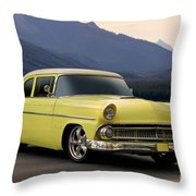 1956 Ford Fairlane Club Coupe Throw Pillow