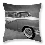 1956 Ford Fairlane Victoria Throw Pillow