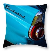 1956 Ford Thunderbird 2 Throw Pillow