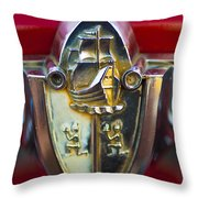 1956 Plymouth Belvedere Emblem 2 Throw Pillow