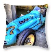 1956 Schroeder Roadster #77 Throw Pillow