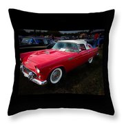 1956 Tbird Throw Pillow