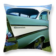 1957 Cheverolet Throw Pillow