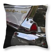 1957 Chevy Bel-air Throw Pillow