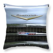 1957 Chevy Throw Pillow