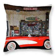 1957 Corvette Hackberry Arizona Throw Pillow