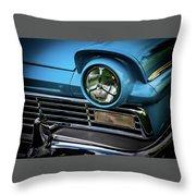 1957 Ford Detail Throw Pillow