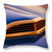 1957 Ford Thunderbird Scoop Throw Pillow