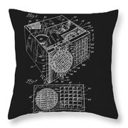 1958 Air Conditioner Patent Throw Pillow