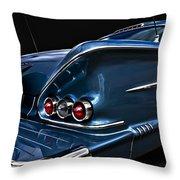 1958 Chevrolet Bel Air Impala Throw Pillow