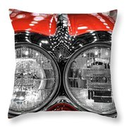 1958 Chevrolet Corvette  Throw Pillow