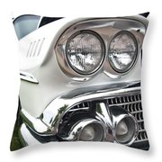 1958 Chevrolet Delray Throw Pillow