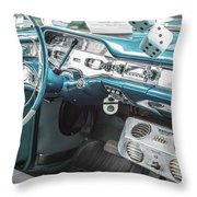 1958 Chevrolet Impala - 5 Throw Pillow