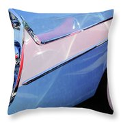 1958 Dodge Sweptside Truck Taillight Throw Pillow