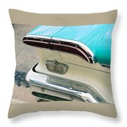 1958 Edsel Pacer Tail Light Throw Pillow