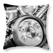 1958 Edsel Ranger Push Button Transmission 2 Throw Pillow