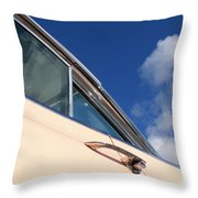 1959 Cadillac Coupe De Ville 09 Throw Pillow
