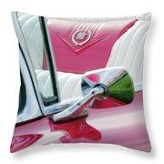 1959 Cadillac Eldorado Interior Throw Pillow