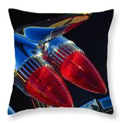 1959 Cadillac Eldorado Tail Fin 3 Throw Pillow